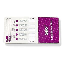 Xalex Multi Drug Testing Kit for 5 Drugs (THC/COC/OPI/AMP/PCP)