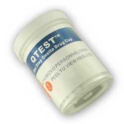 QTEST 12 Panel Drug testing Cup