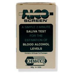 Alcohol Saliva Screen Test