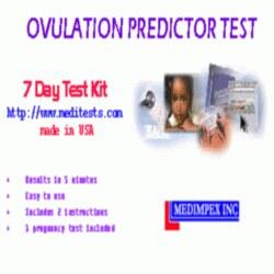 7 Days Ovulation Prediction Test Kit